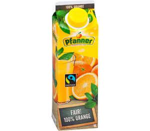 Abbildung des Angebots Pfanner 100 % Orangensaft oder Multinektar