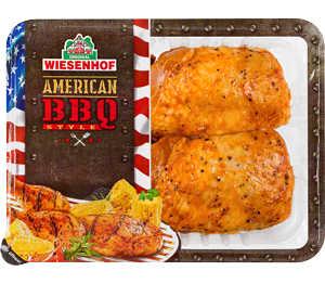 Abbildung des Angebots Wiesenhof Hähnchenschenkel- Duo »American BBQ Style«