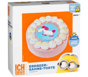 Abbildung des Angebots Bakery & Food Minions Einhorn Erdbeer-Sahne-Torte