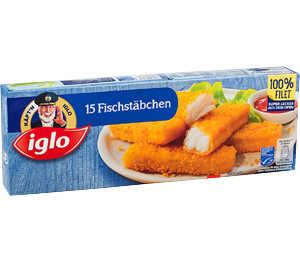 Abbildung des Angebots Käpt'n Iglo Fischstäbchen