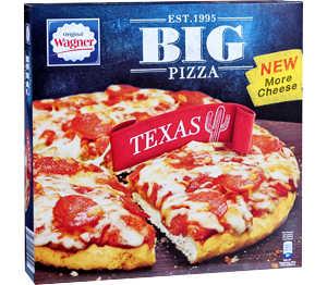 Abbildung des Angebots Original Wagner Big Pizza Texas