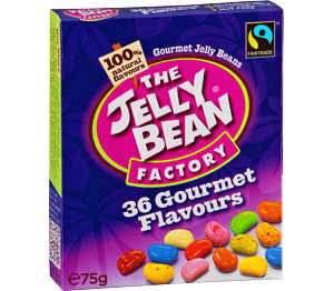 Abbildung des Angebots The Jelly Bean Factory Geleebohnen-Box