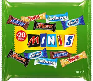 Abbildung des Angebots 20 Mixed Minis Schokoriegel