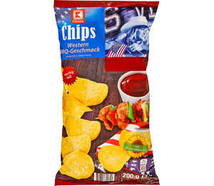 Abbildung des Angebots K-Classic Chips Western BBQ