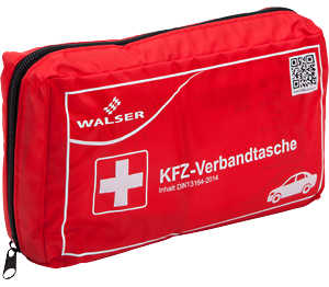 Abbildung des Angebots WALSER Kfz-Verbandtasche