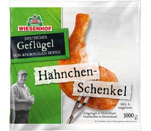 Abbildung des Angebots Wiesenhof dtsch. Hähnchen-Schenkel