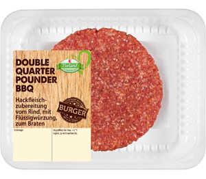 Abbildung des Angebots Double Quarter Pounder BBQ Hackfleischzubereit. v. Rind