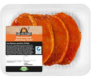 Abbildung des Angebots Schweinerückensteak »Ketchup Style«