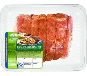 Abbildung des Angebots K-Purland Braten »Griechischer Art« vom Schweinenacken, gefüllt