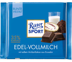 Abbildung des Angebots Ritter Sport Schokolade Bunte Vielfalt