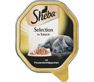 Abbildung des Angebots Sheba Katzennahrung