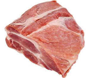 Abbildung des Angebots Schweinenacken/-kamm ohne Knochen, am Stück