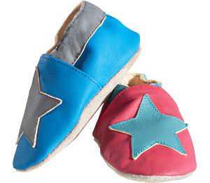 Krabbelschuhe Lauflerner Schuhe Puschen Schläppchen Turnen 17 18 19 20-24  26