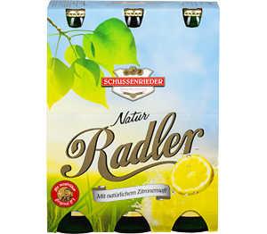 Abbildung des Angebots Schussenrieder Natur-Radler Zitrone
